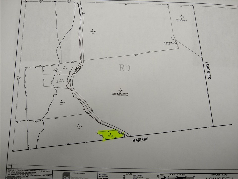 Acworth NH 03601 Land for sale $List Price is $10,000