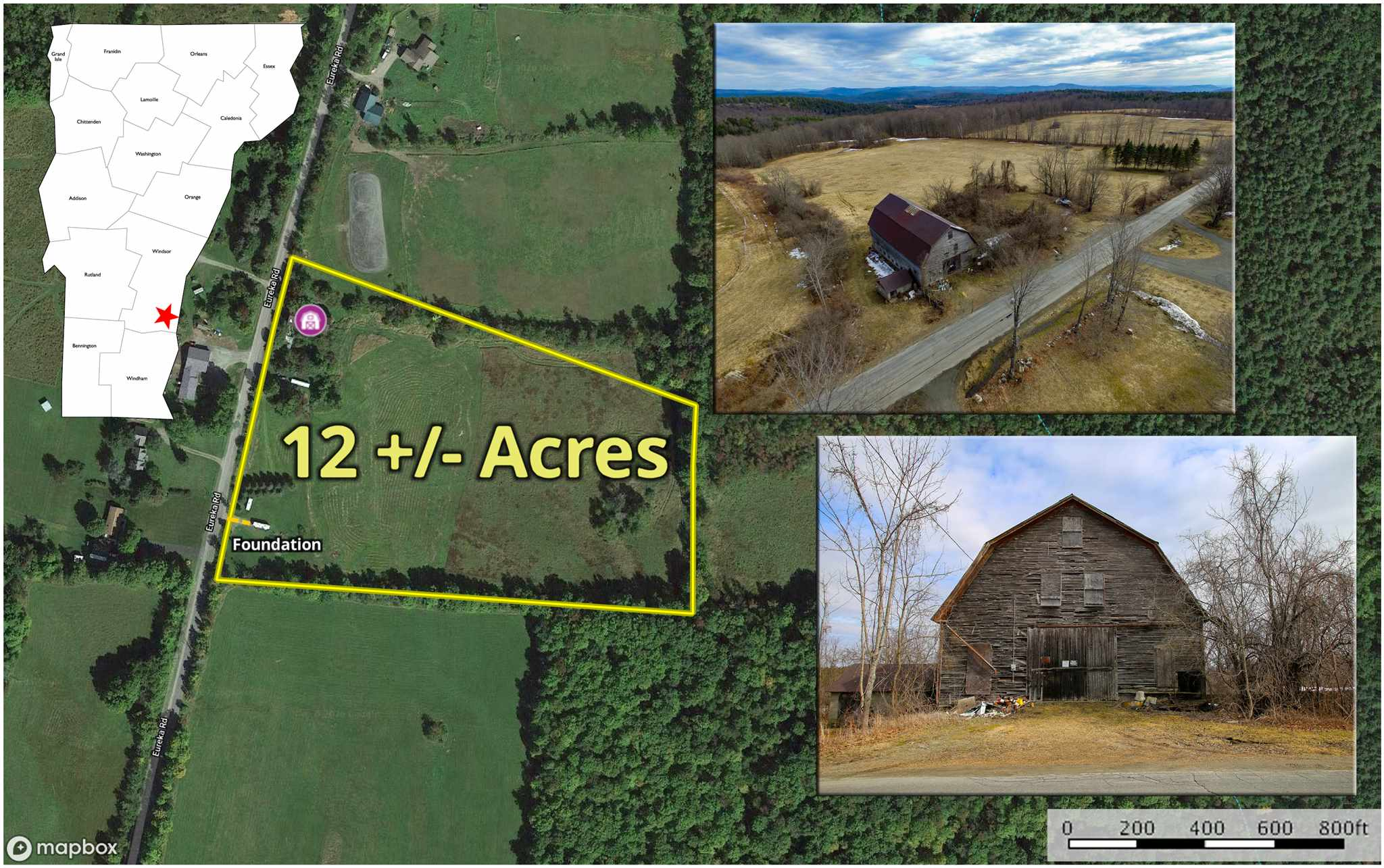 Springfield VT 05156 Land for sale $List Price is $75,000