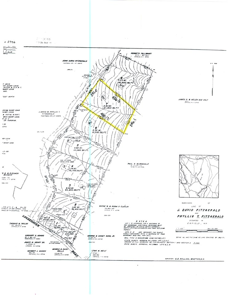 ENFIELD NH LAND  for sale $$42,000 | 2.8 Acres  | Price Per Acre $0