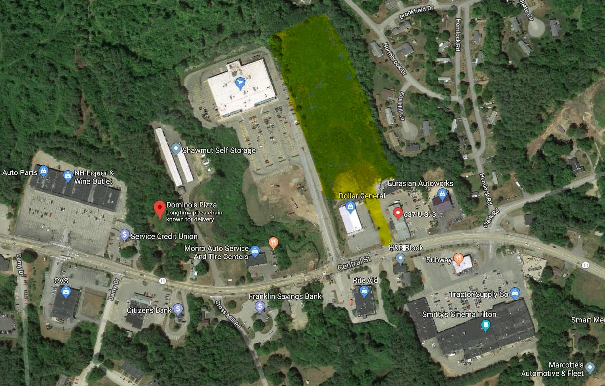 TILTON NH  LAND  for sale $650,000