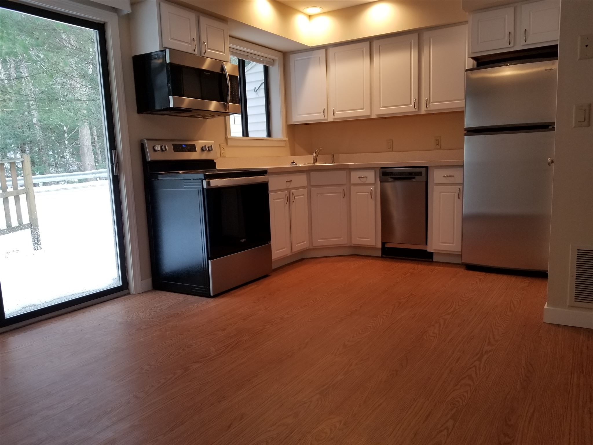 Kitchen, Back Patio Slider/All New Kitchen