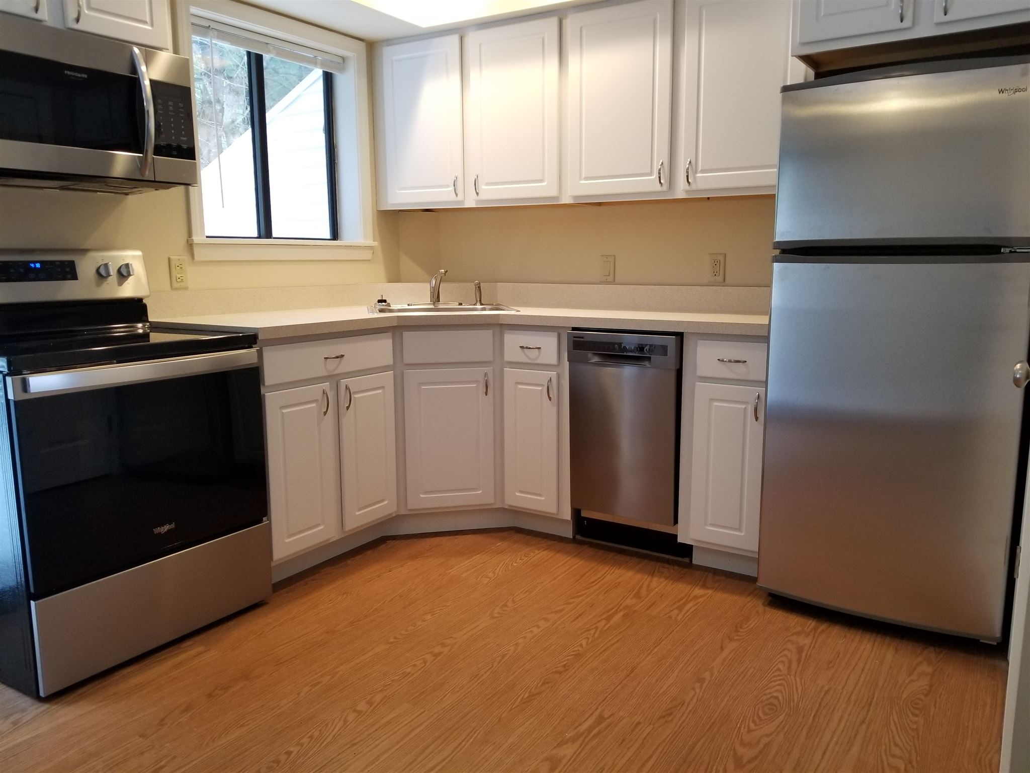 New Cabinetry, Appliances