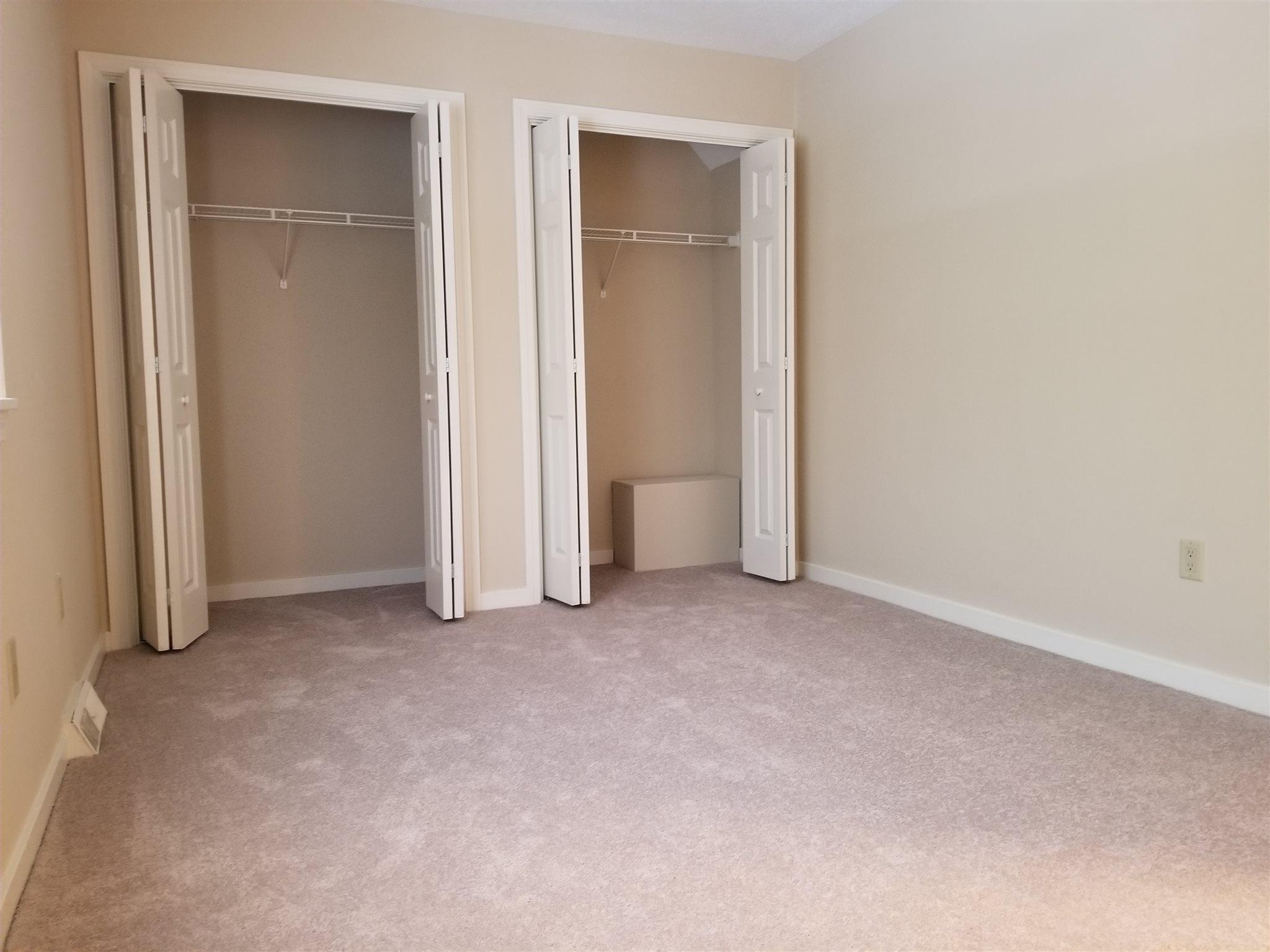 Back Bed Closets