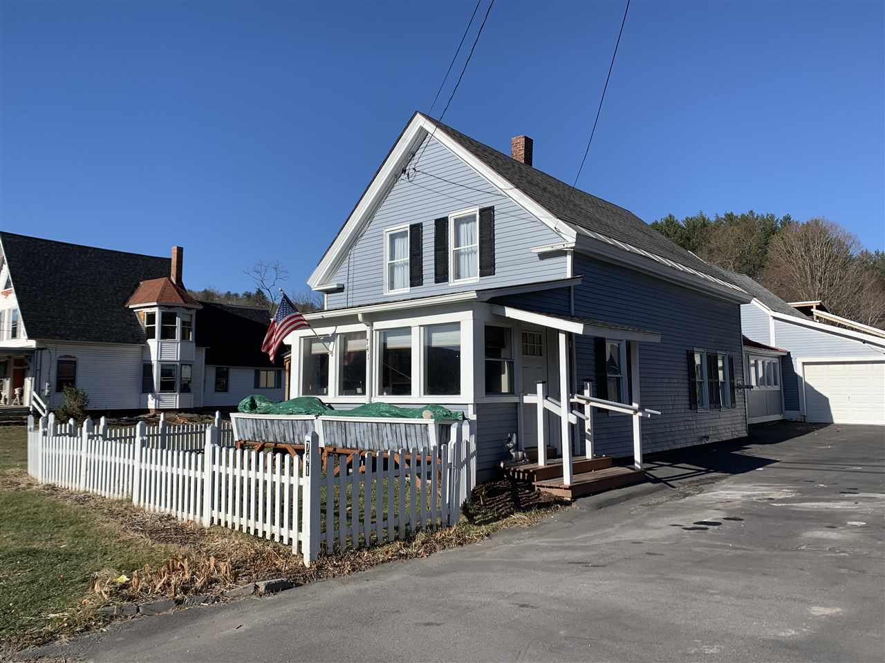 Village of Proctorsville in Town of Cavendish VT Home for sale $List Price is $175,000