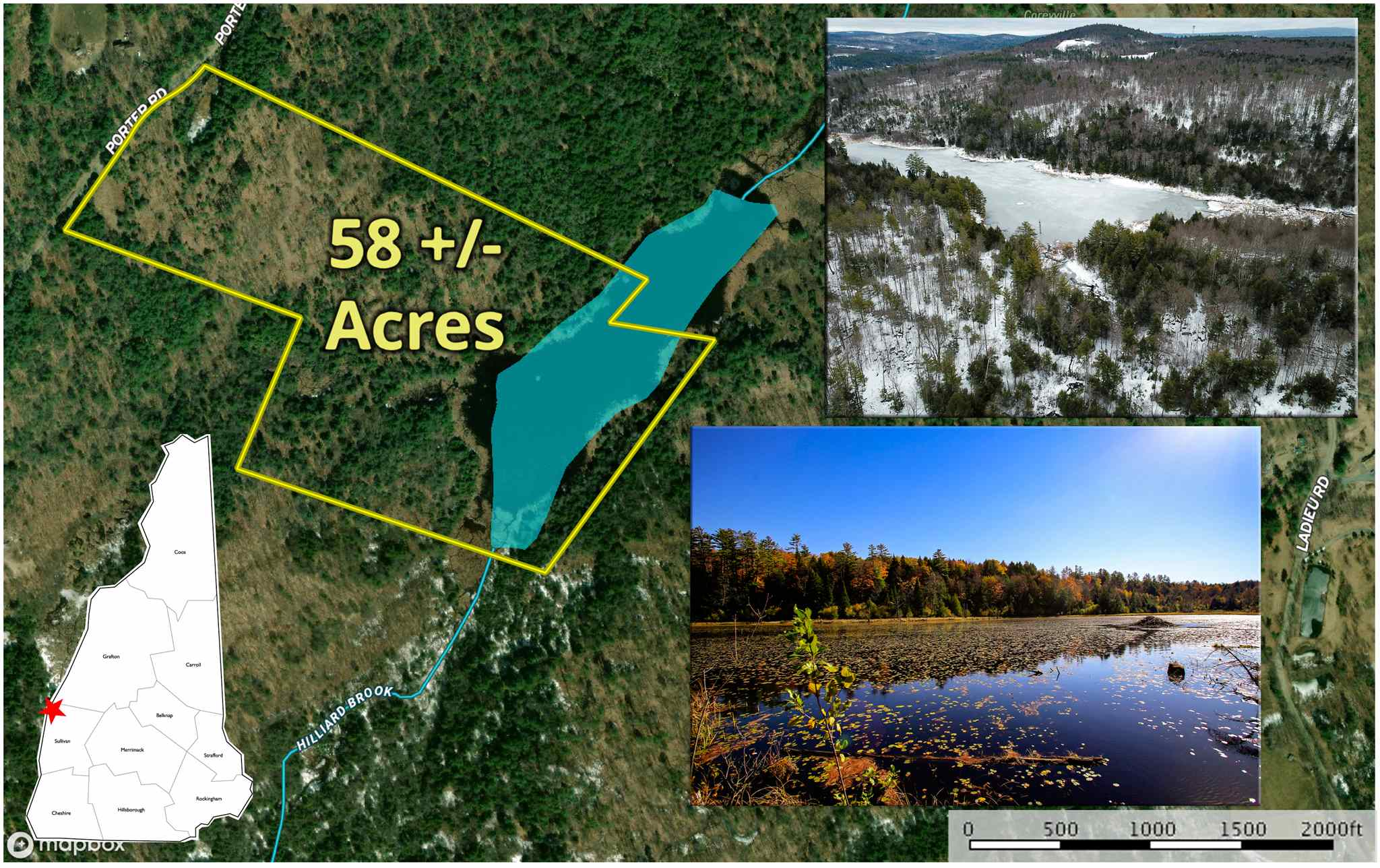 Plainfield NH 03781Land for sale $List Price is $125,000