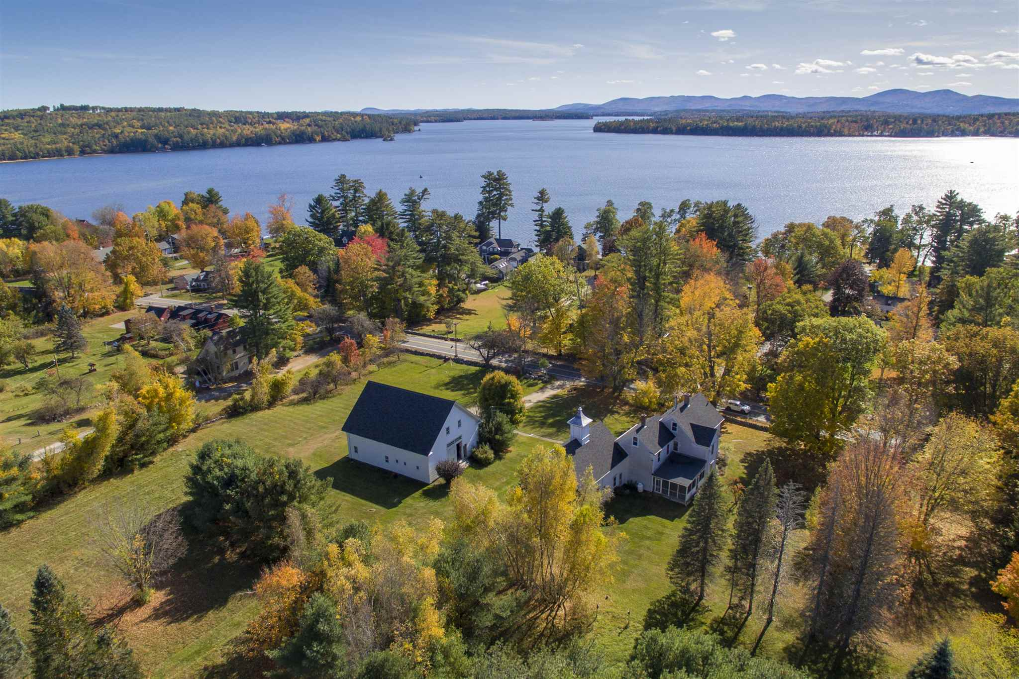 VILLAGE OF MELVIN VILLAGE IN TOWN OF TUFTONBORO NH  Home for sale $629,500