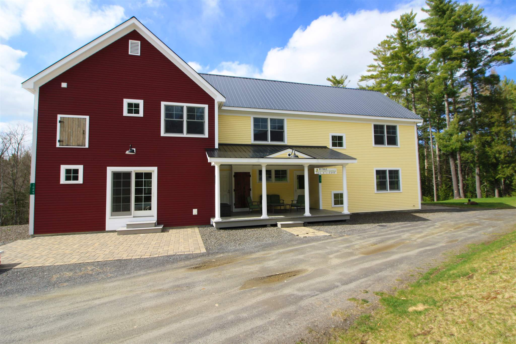 Burke VT Brook/ Dish Mill Brook waterfront home for sale