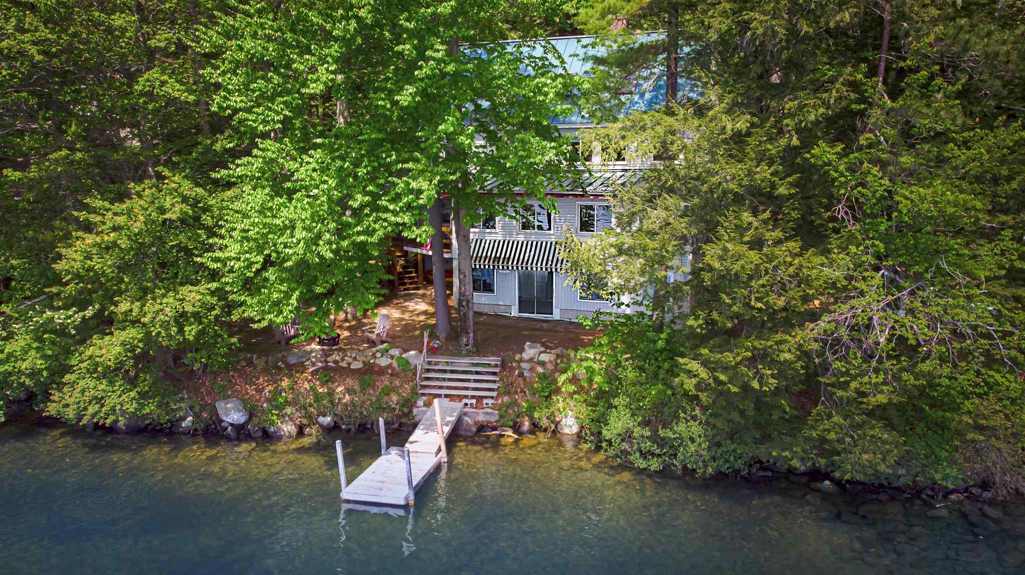 Pond Rust Pond waterfront home for sale in Wolfeboro