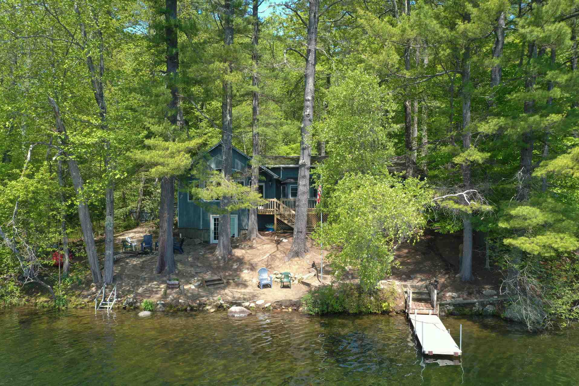 Lake Kanasatka  waterfront home for sale in Moultonborough