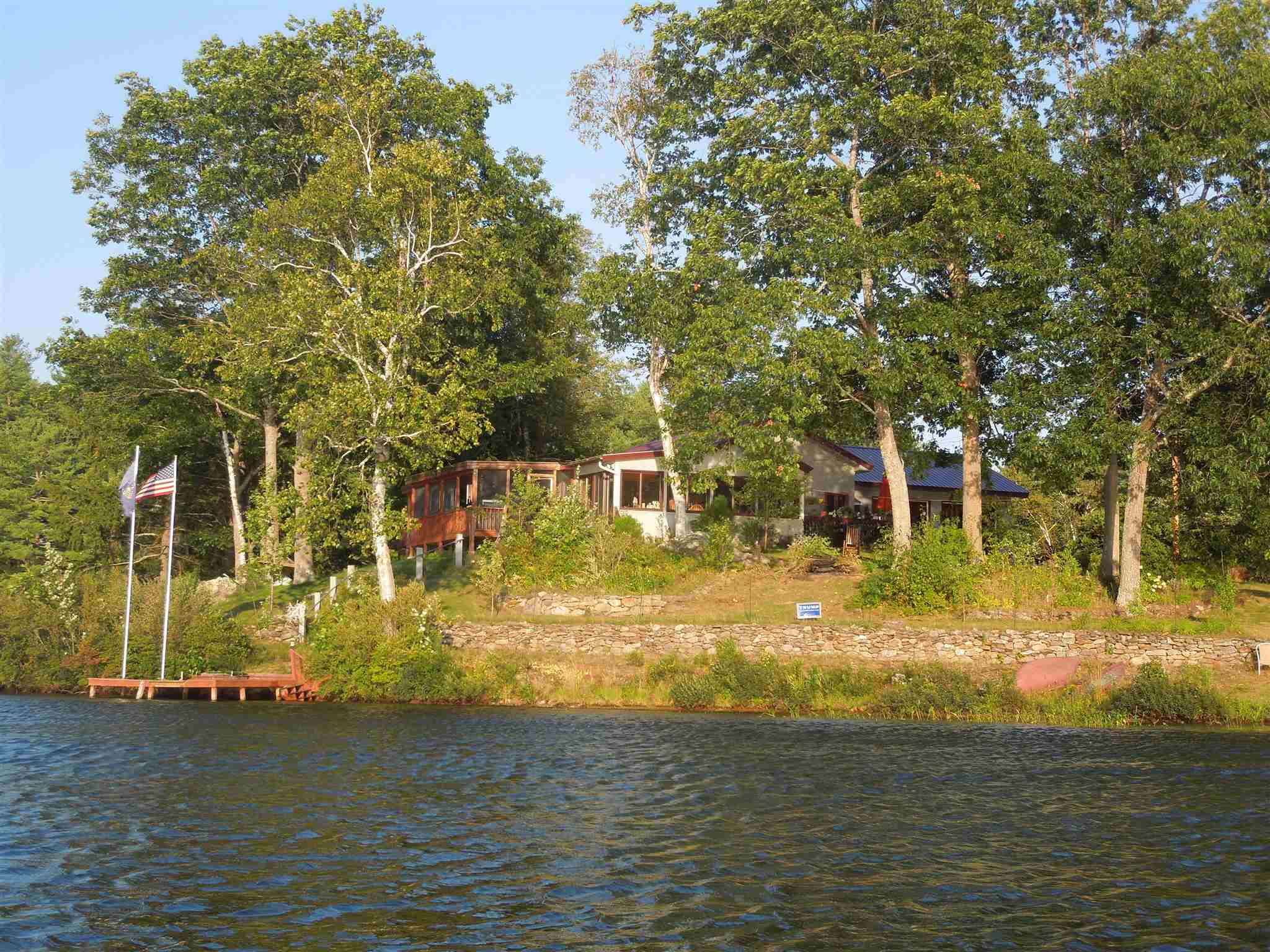 Pond Huntress Pond waterfront home for sale in Barnstead