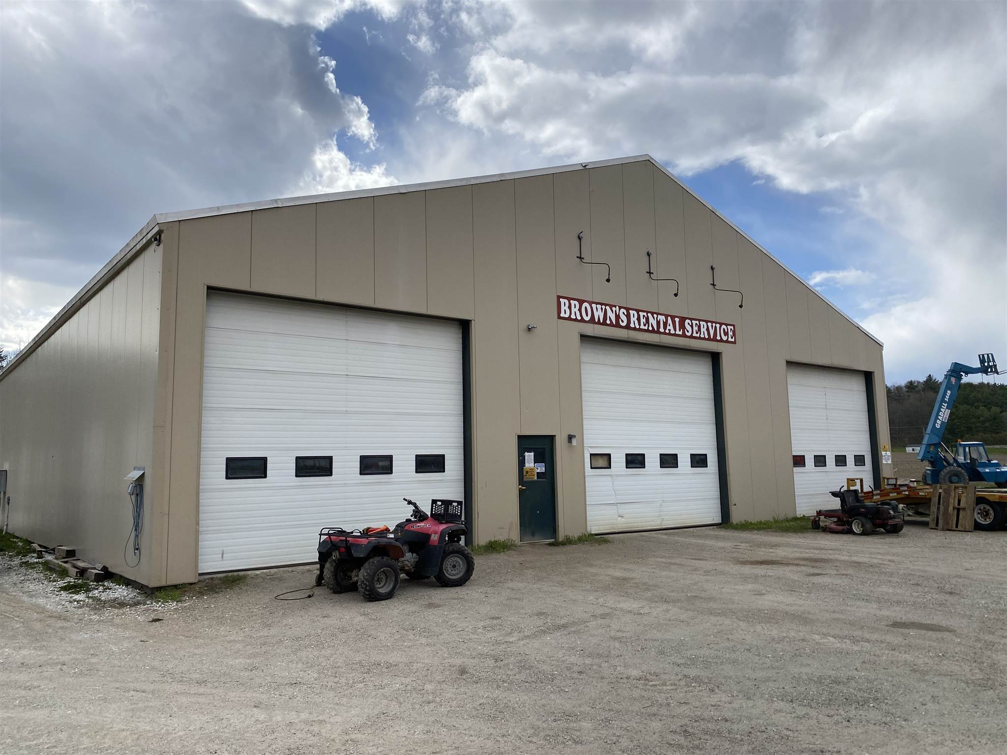 Conveniently located on Route 116 in Bristol, this 5,600 commercial building is ready for your business! The steel framed and insulated building has three bays that are 20'x80', 20'x80', and 30'x80' with 18' ceilings. This space would be perfect for large scale auto repair/mechanic, storage of large machinery, light industrial or manufacturing, or warehouse space. The space is being offered at $6/sf or $2,800/month NNN.  The building features:  -Waste oil furnace -25 horse air compressor -12,000 pound car/truck lift -4 - 14' x 14' overhead doors -80' long - 20' bay, 30' bay, 20' bay -20 x 12 storage unit -3 Phase Power  Need more space? The owner is also leasing the property across the road with an additional 6,300 sf.