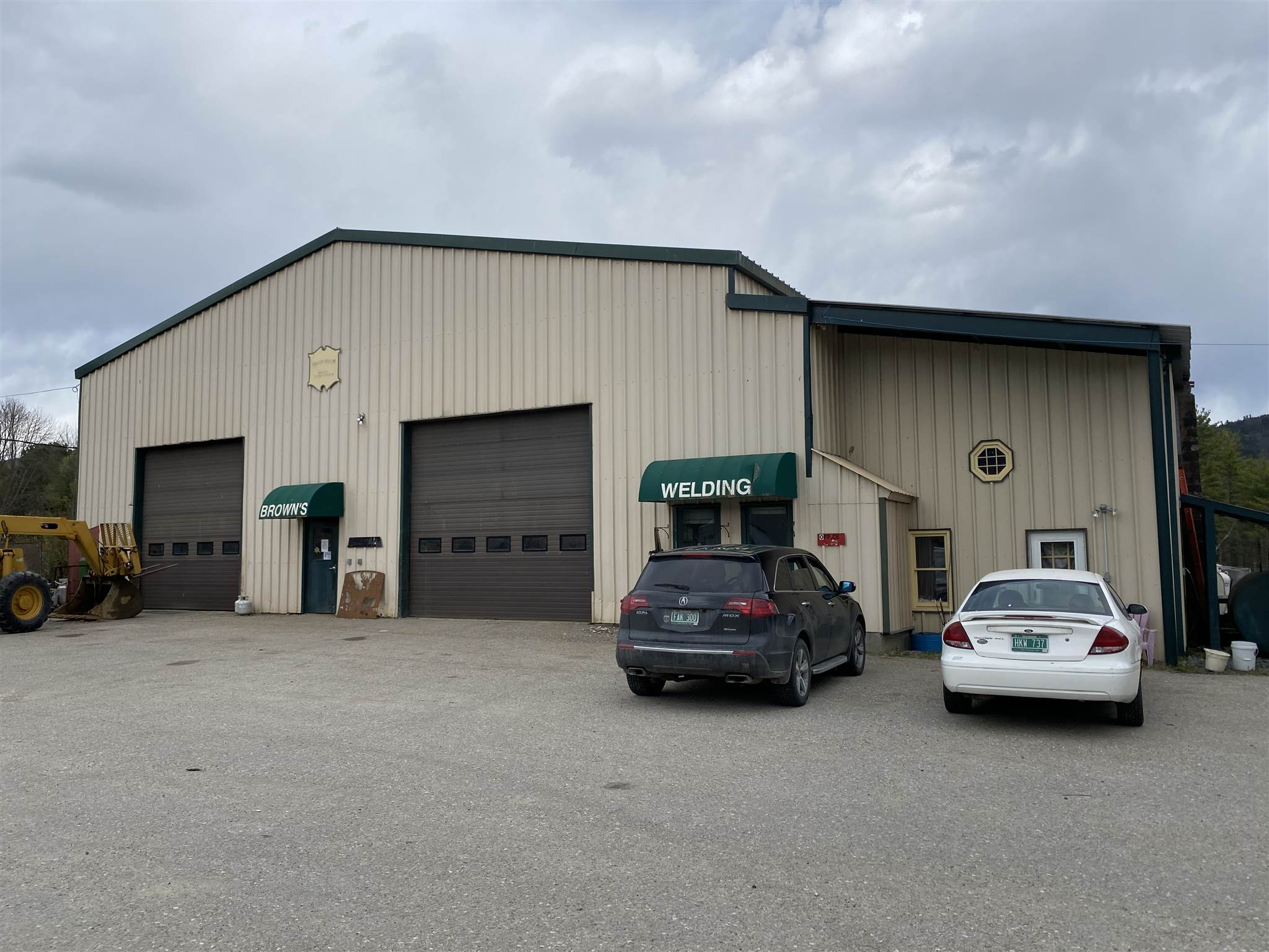 """Ready to start or grow your business? This space is extremely flexible and is set up to get the job done! Currently used as a welding and fabrication shop, it has the potential to be used for a variety of uses. Most of the space is open with 20' ceilings. It has an office space that can easily accommodate 3-4 people. Owner is willing to lease the space and equipment for a similar business or remove equipment if needed for an entirely new use. He will also consider leasing a portion of the space if needed. The available space is approximately 6,300 sf and can be leased for $6/sf or $3,150/month NNN.  The building features: - 3 Phase power 480 Amp 400 Amp Service - 5 ton bridge crane - 3 ton bridge crane - 1 ton bridge crane - Waste oil heat - Outdoor wood boiler - 14' x 14' overhead door - 14' x 16' overhead door -Air quality """"smoke eaters"""" - 2  Welding Equipment that is not included in the lease rate listed above, but could be negotiated includes: - 225 Ton Press Brake 12' Long - 12' Shearer (up to 1/2"""" plate) - 45 Ton iron worker - 95 ton iron worker - 8' 3/8th plate rolling machine - CNC Plasma Cutting Table 5x10 sheets - 10 Welders - 20 horse shop air compressor - 5 horse shop air compressor - 4' pan brake - 8' sheet metal brake - 3' plate rolling machine - Pipe rolling machine & Benders - Lathe - Healiarc welder"""