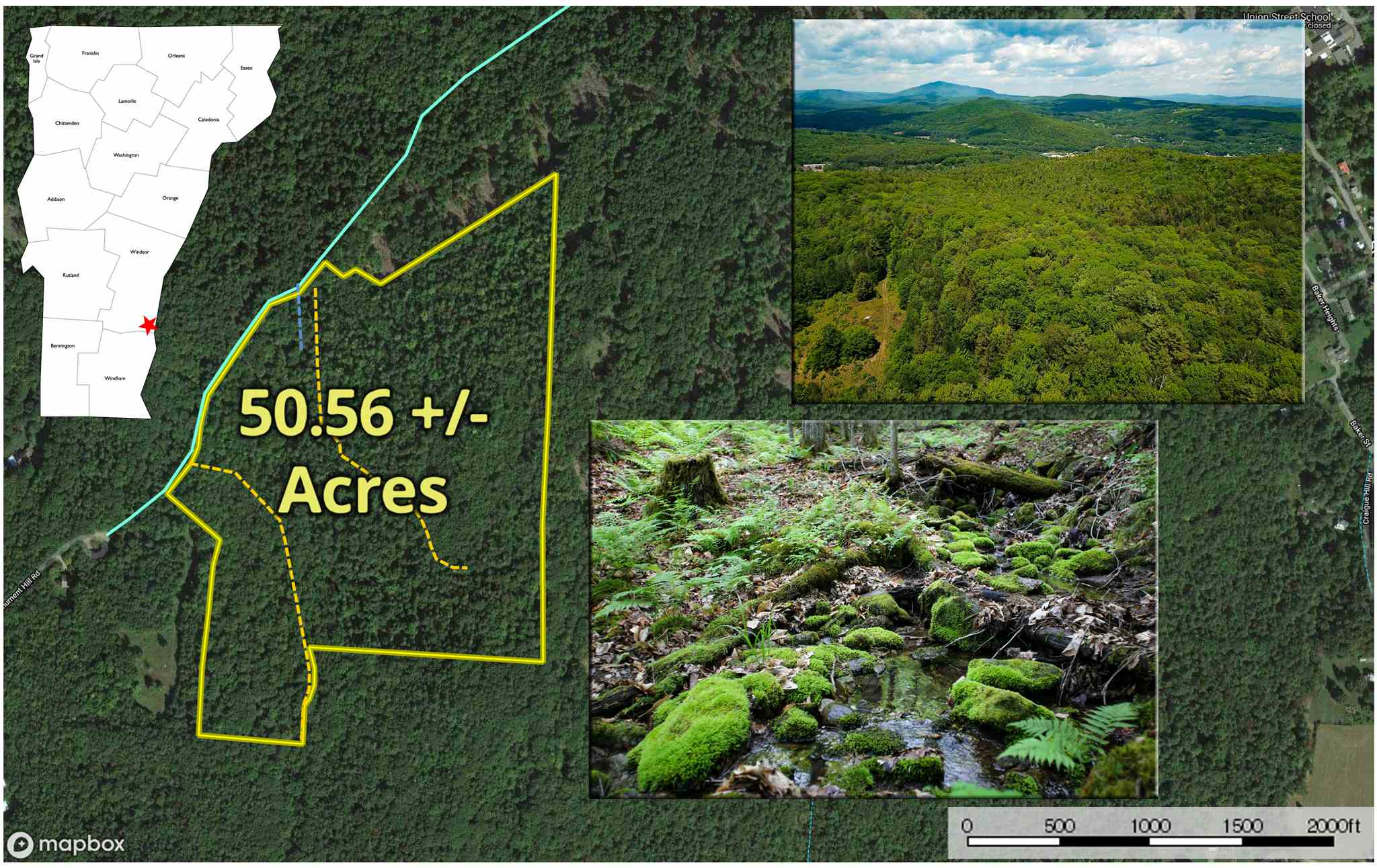 SPRINGFIELD VTLAND  for sale $$57,000 | 50.56 Acres  | Price Per Acre $0  | Total Lots 3