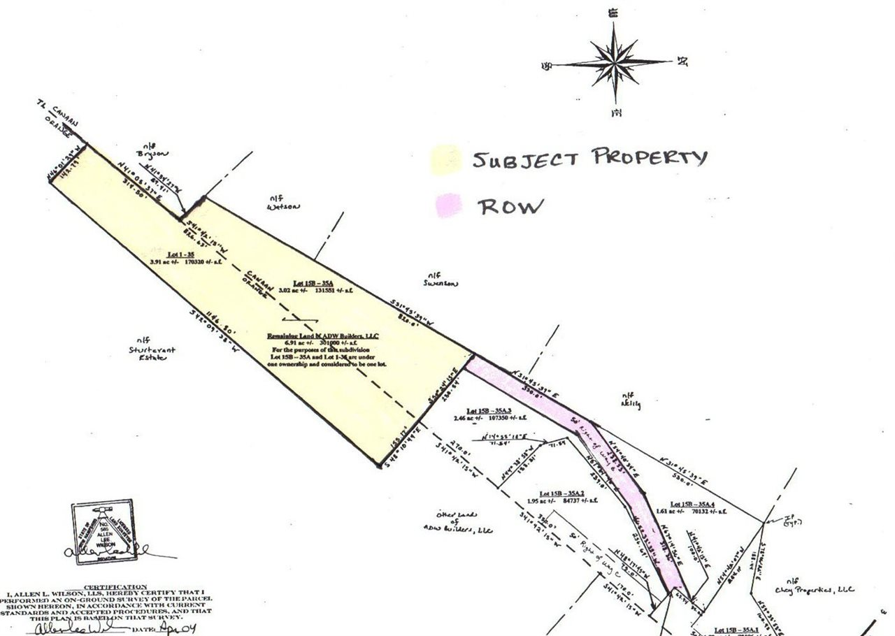 CANAAN NH LAND  for sale $$35,900 | 6.91 Acres  | Price Per Acre $0