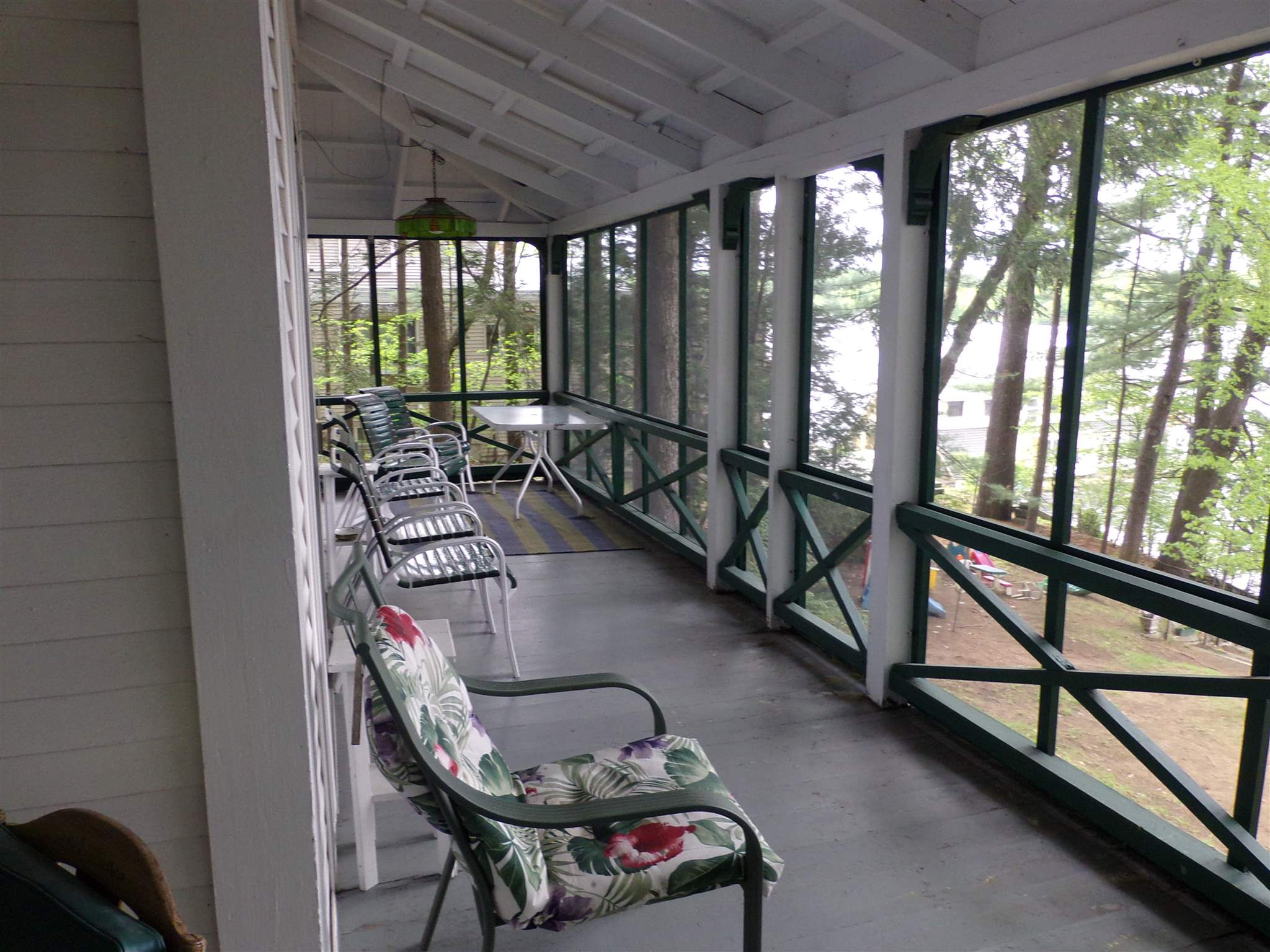 Screened waterfront porch 15164988
