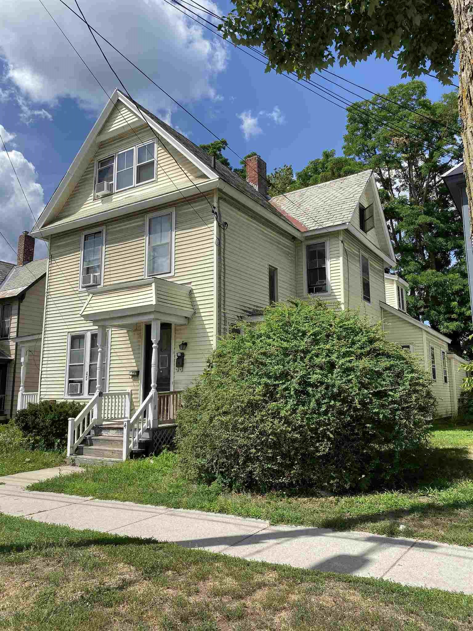 Excellent downtown investment property with plenty of parking. Loaded with character. Front porch, much new flooring.
