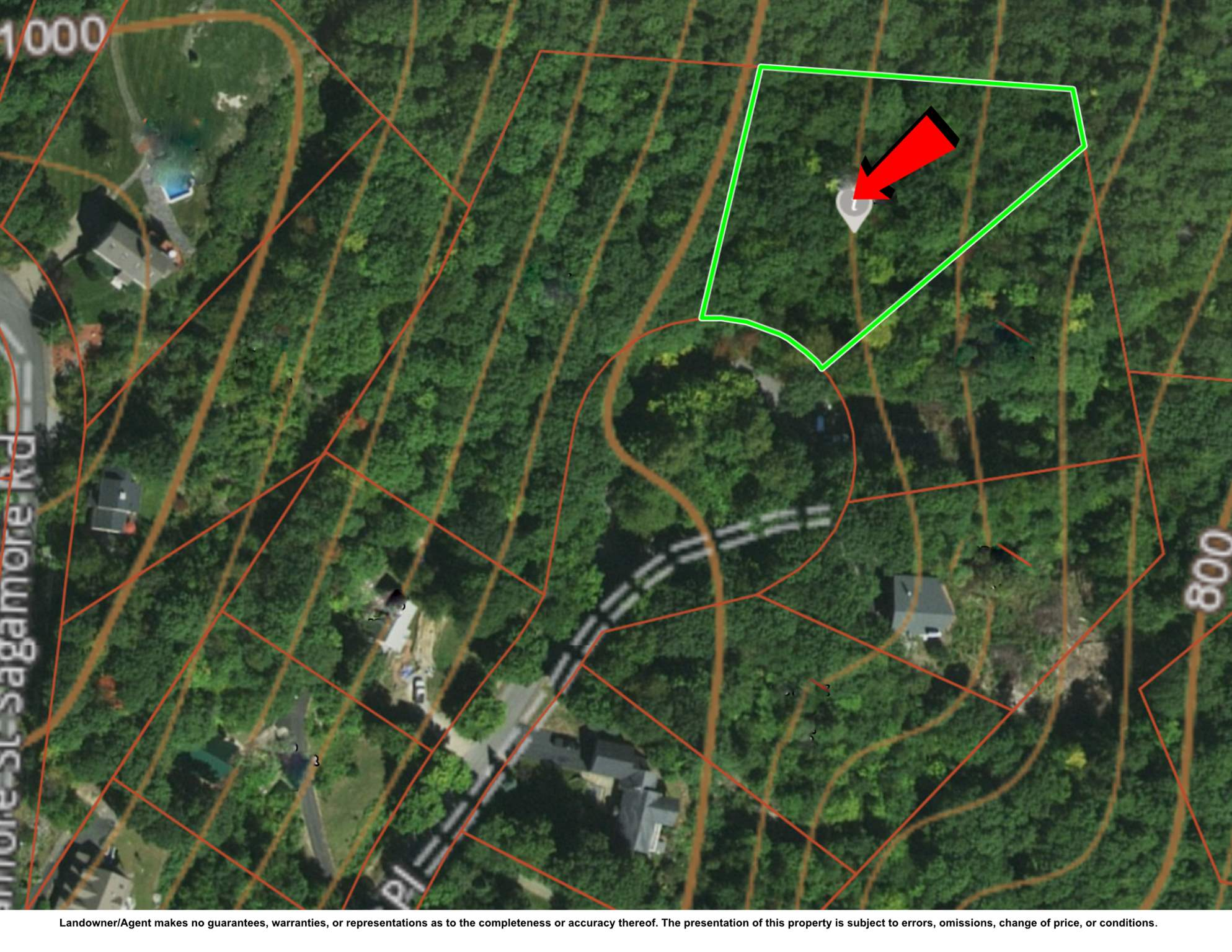 GILFORD NHLAND  for sale $$125,000 | 0.89 Acres  | Price Per Acre $0