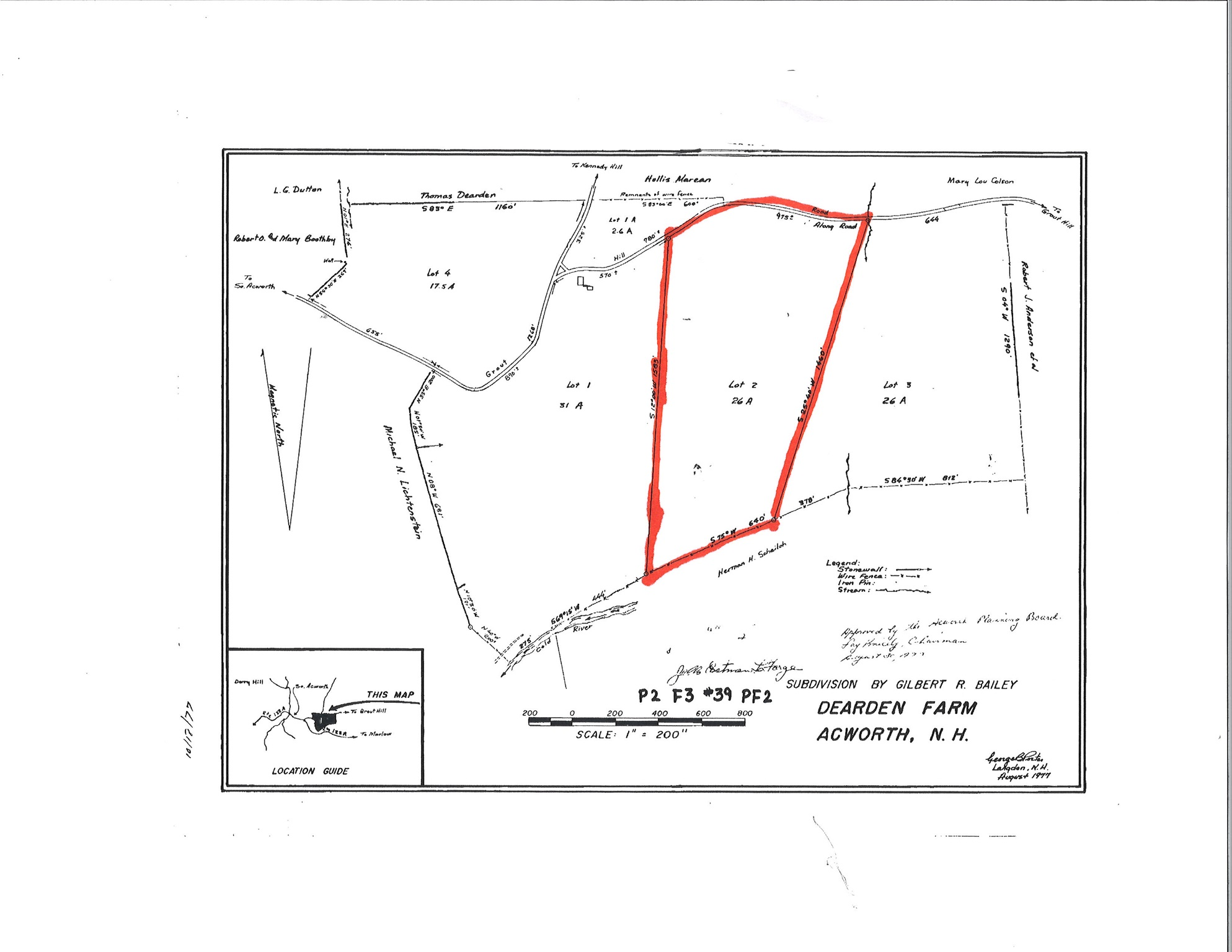 Acworth NH 03601 Land for sale $List Price is $58,900