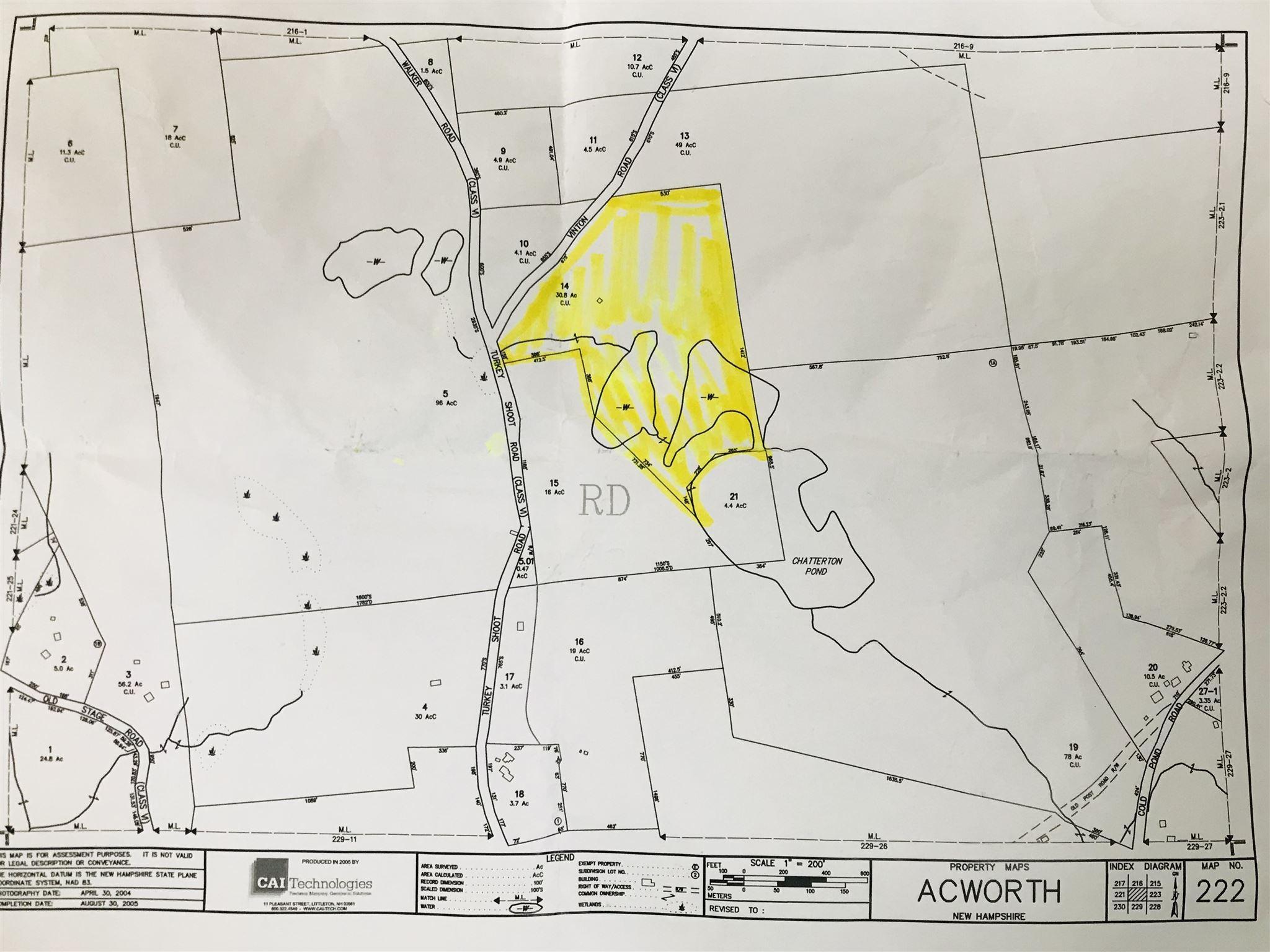 image of Acworth NH Land   30.8 Acres