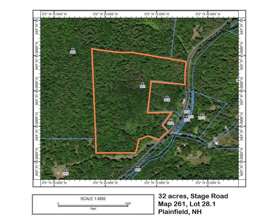 Plainfield NH 03781Land for sale $List Price is $140,000
