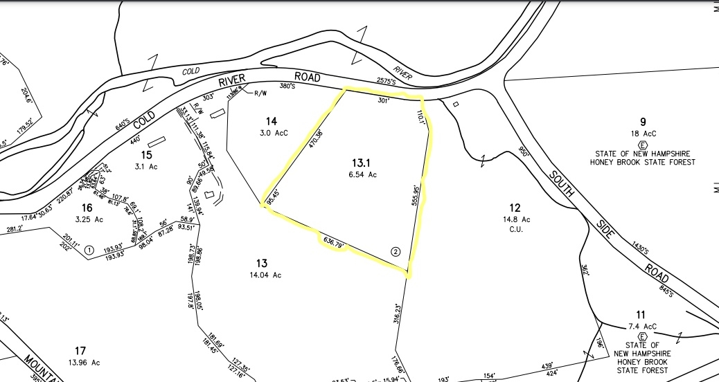Acworth NH 03601Land for sale $List Price is $42,000