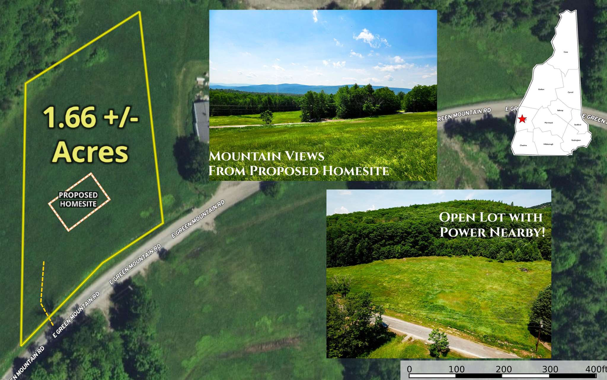 Claremont NH 03743Land for sale $List Price is $45,000