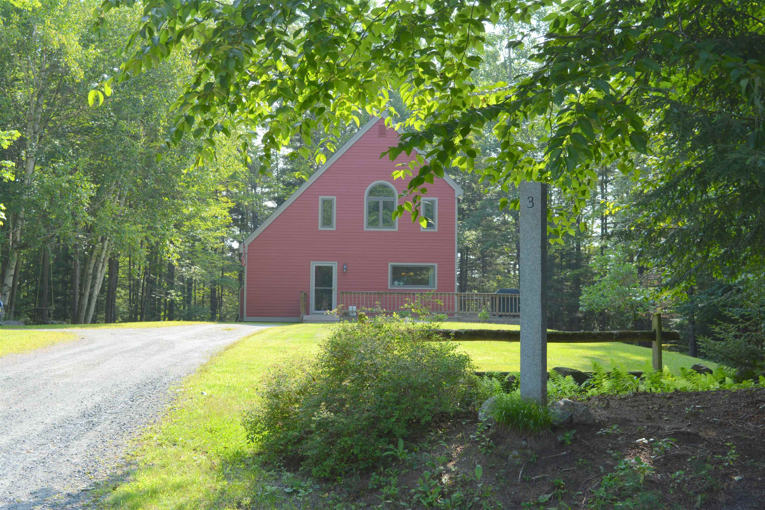 Village of Eastman in Town of Grantham NH  03753Home for sale $List Price is $319,000